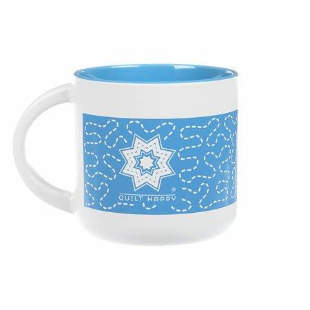 Quilt Happy Meandering Mug