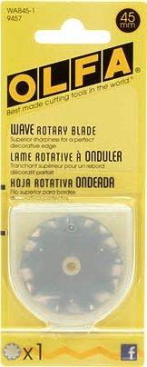 Olfa 45mm Rotary Cutter Blade - Wavy