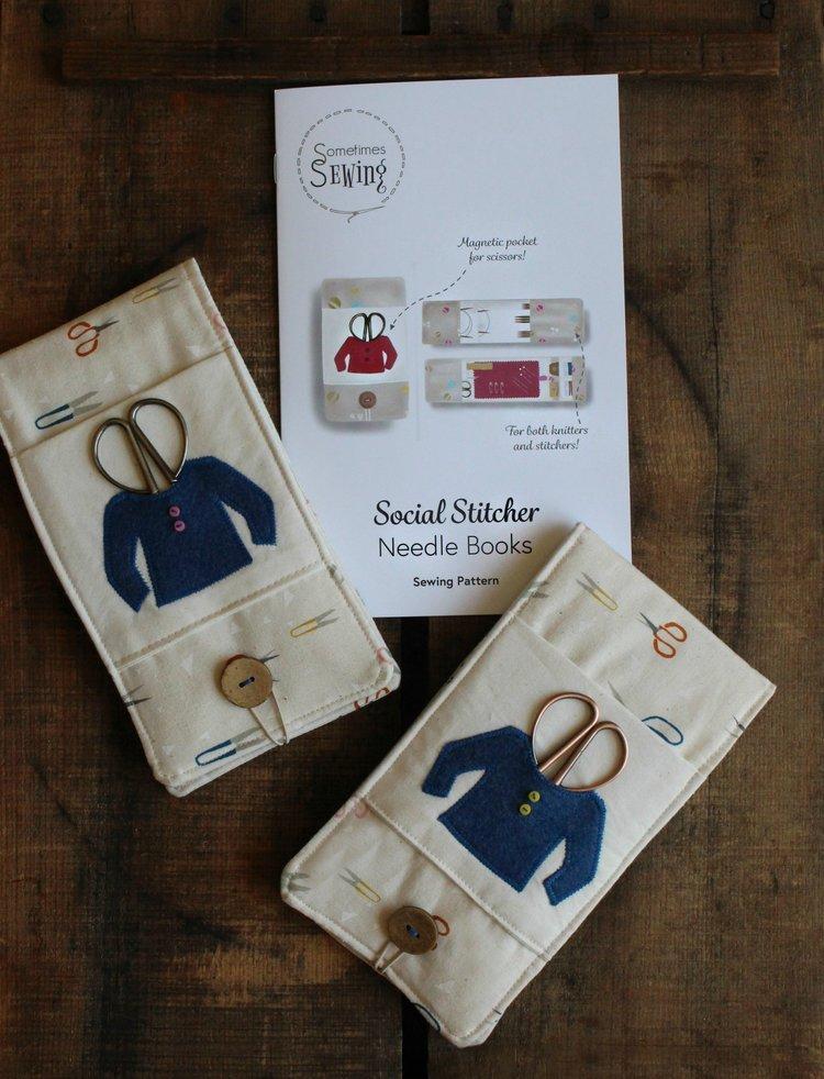 Social Stitcher Needle Books