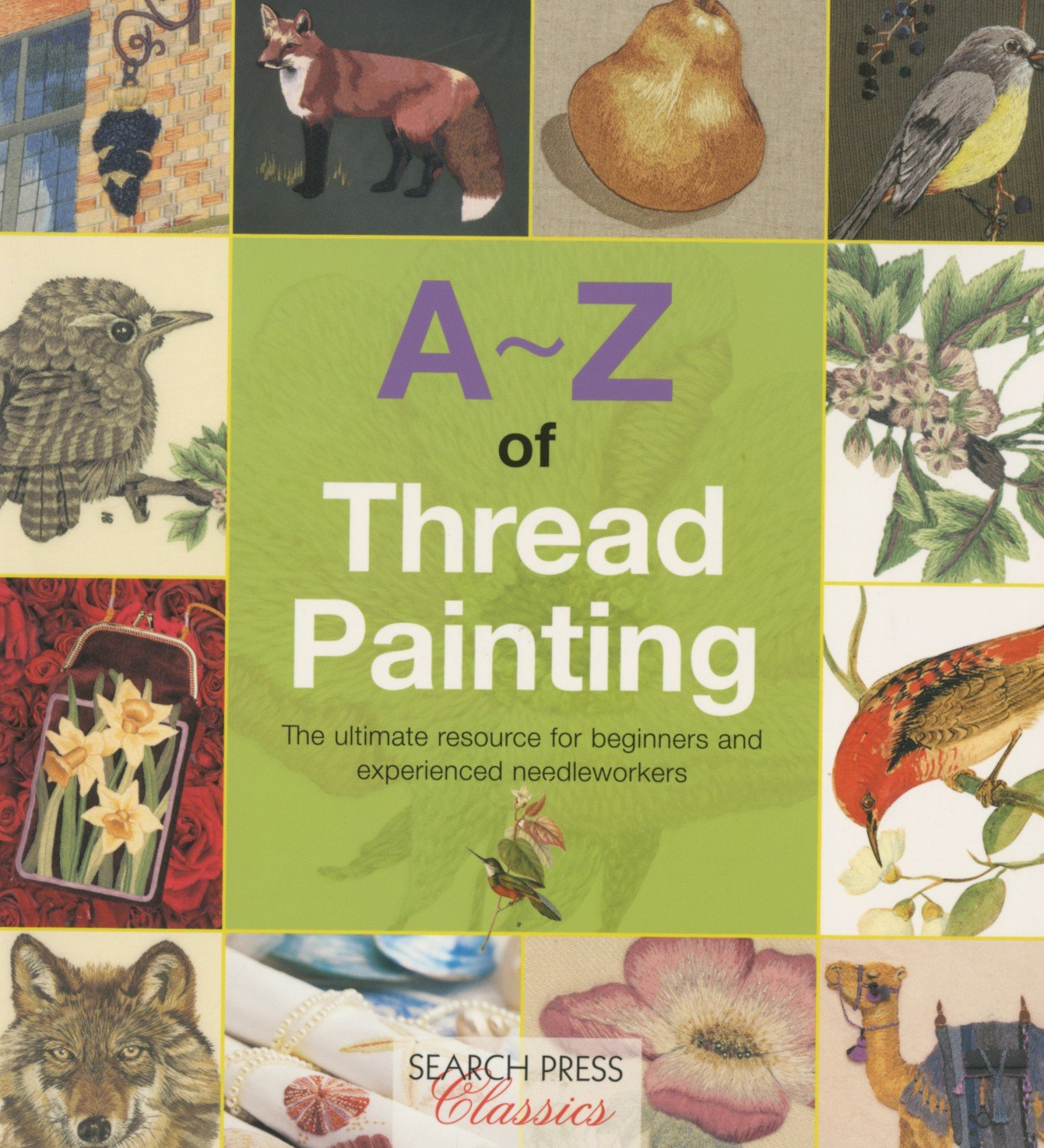 A-Z of Thread Painting