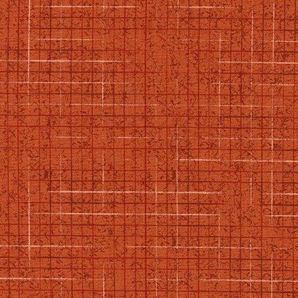 Maze - Terracotta (Remnant: 1-3/4 yds)