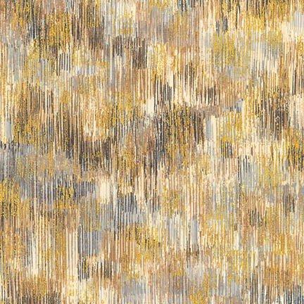 Fusions Brushwork - Smoke (Remnant: 2 yds)