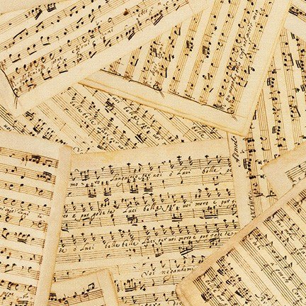 Library of Rarities Wide - Sheet Music (108 wide)