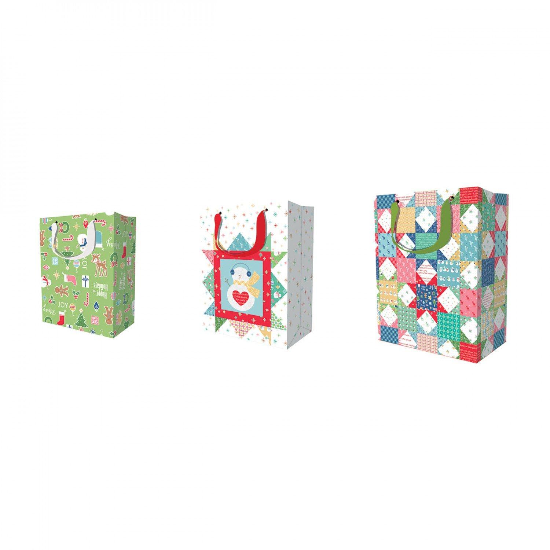 Lori Holt Gift Bags - Christmas Set