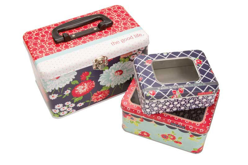 Nested Tin Set - The Good Life (3-Piece Set)