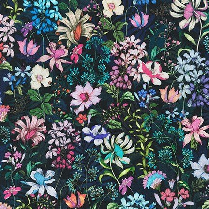 Topia Knits - Floral - Night