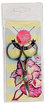 Tula Pink Hardware - Large Ring Micro-Tip Scissor (4)