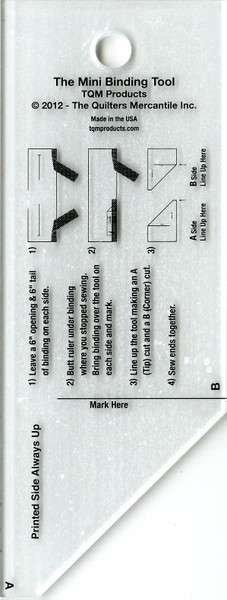 Mini Binding Tool Template
