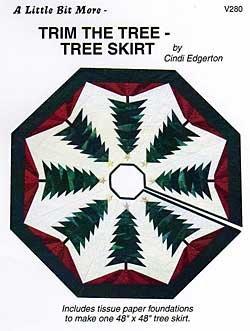 A Little Bit More: Trim the Tree - Tree Skirt