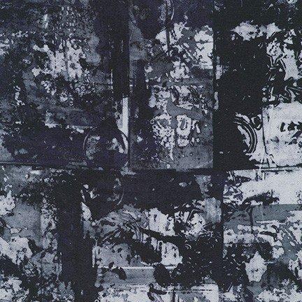 Warehouse District Wide Back - Black (108 Wide)