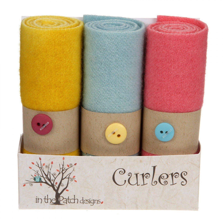Wool Curlers (4 X 16)