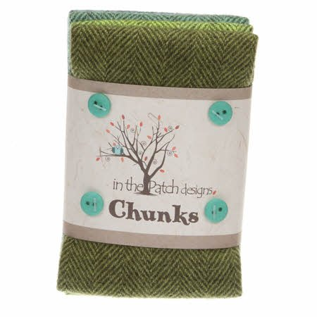 Wool Chunks - 9 x 10 (5 pcs)