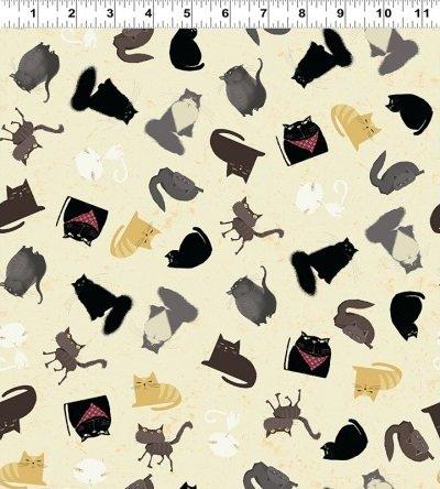 Snarky Cats - Kitten Play - Dark Butter