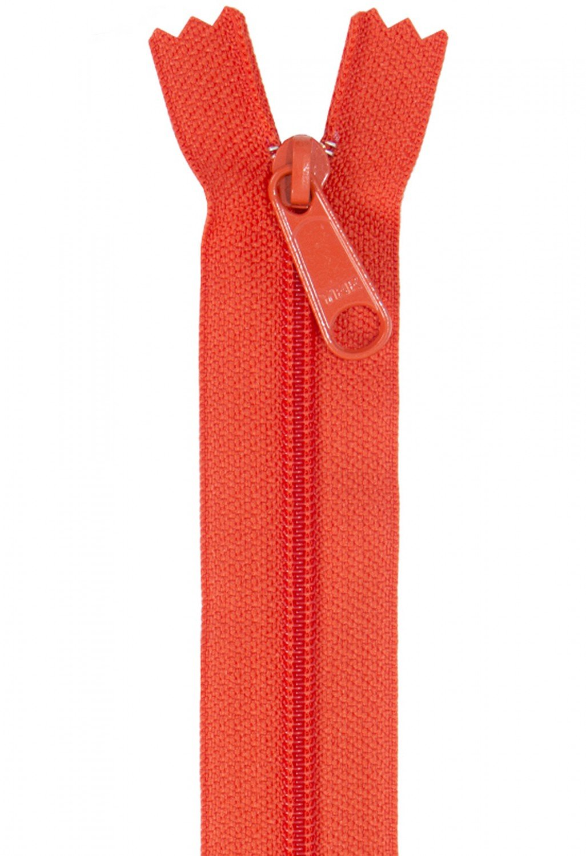 Annie's Handbag Zipper - Tangerine