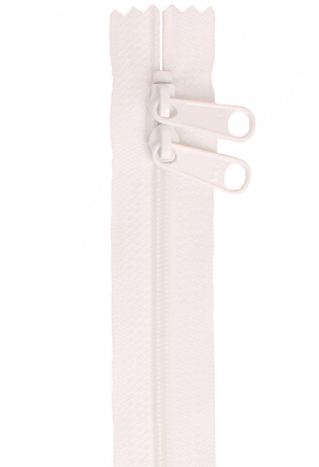 Annie's Handbag Zipper - White