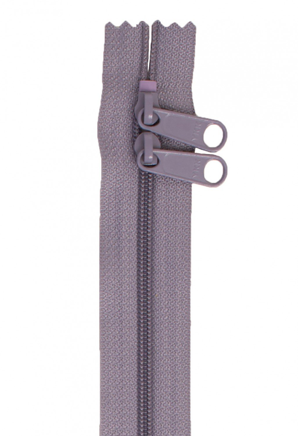 Annie's Handbag Zipper - Gunmetal Grey