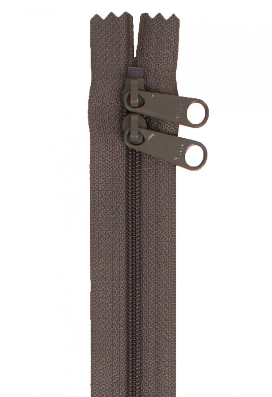 Annie's Handbag Zipper - Slate Gray