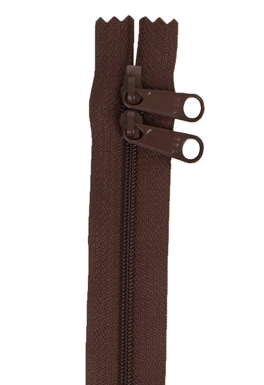 Annie's Handbag Zipper - Sable