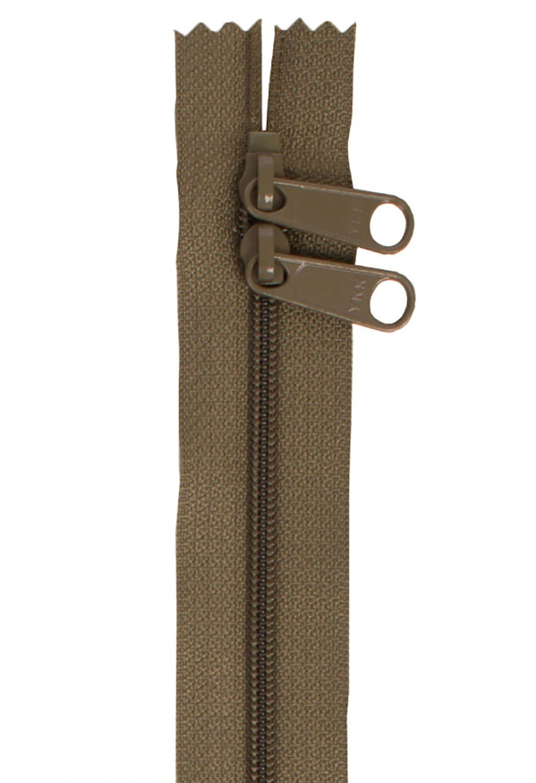 Annie's Handbag Zipper - Khaki