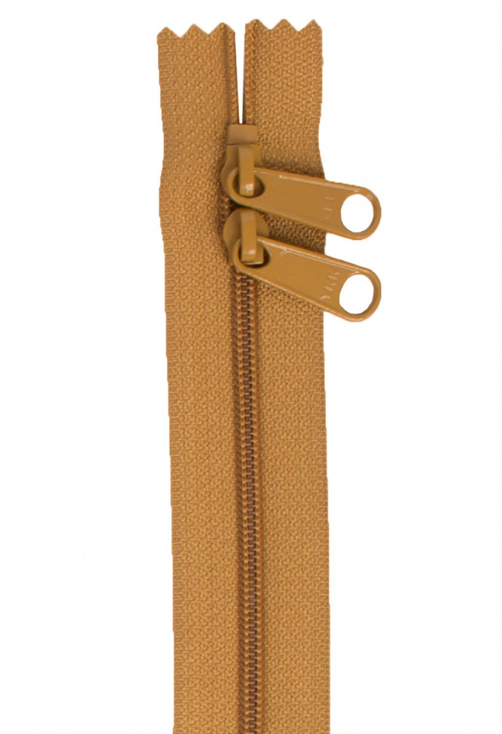 Annie's Handbag Zipper - Golden Brown