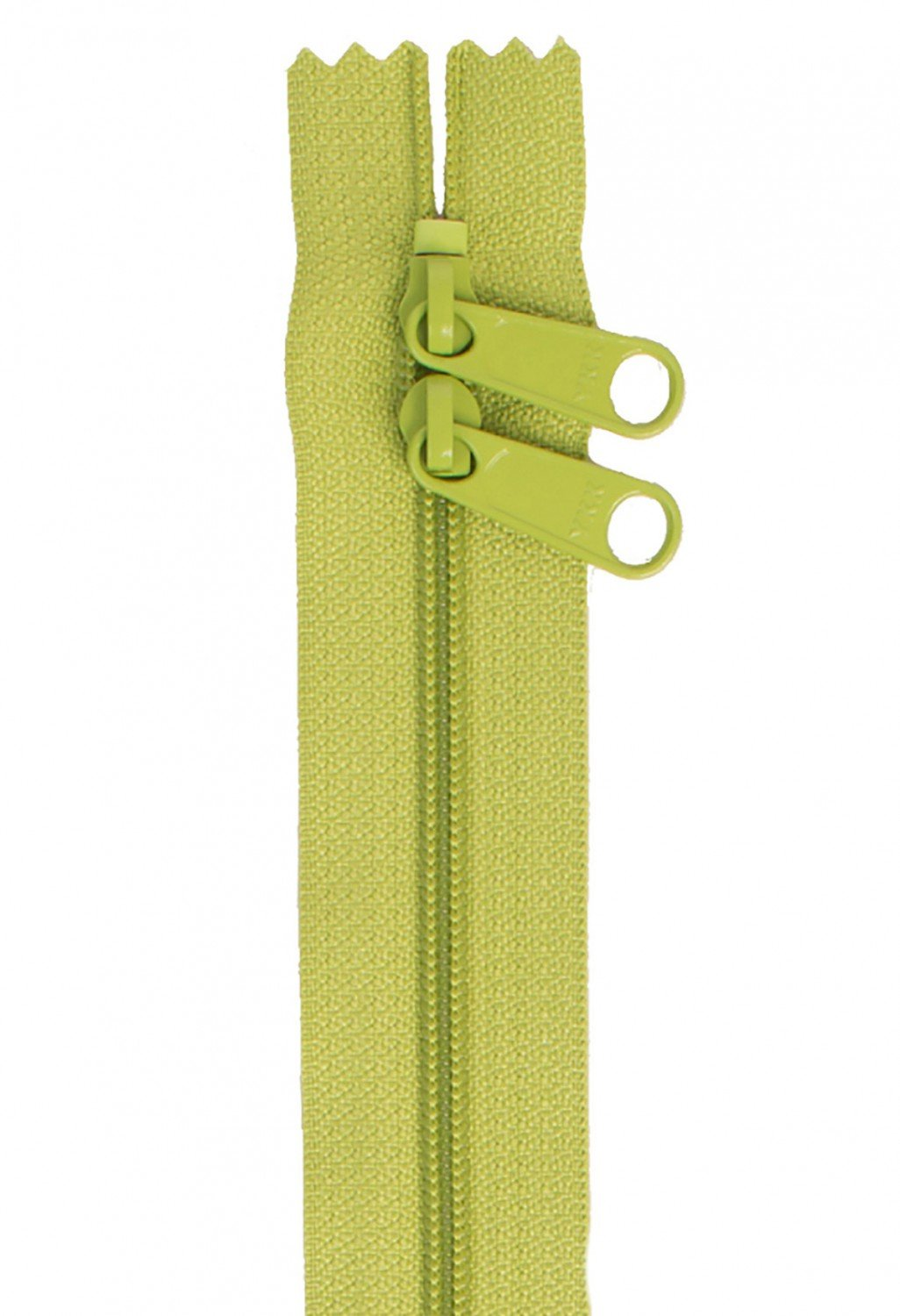 Annie's Handbag Zipper - Apple Green