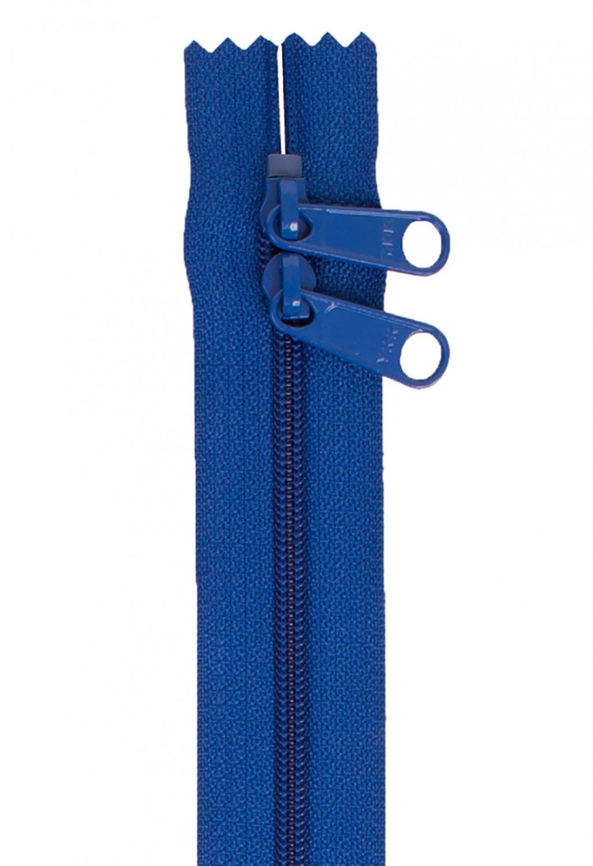 Annie's Handbag Zipper - Blastoff Blue