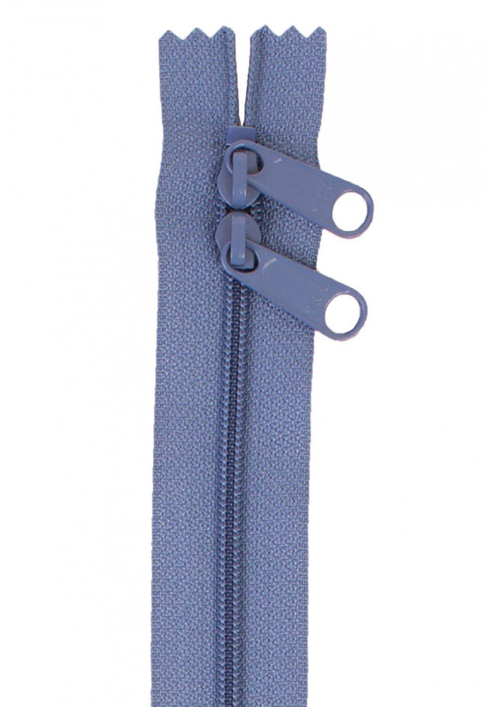 Annie's Handbag Zipper - Country Blue