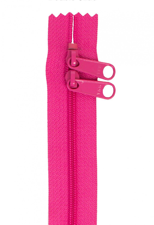 Annie's Handbag Zipper - Raspberry