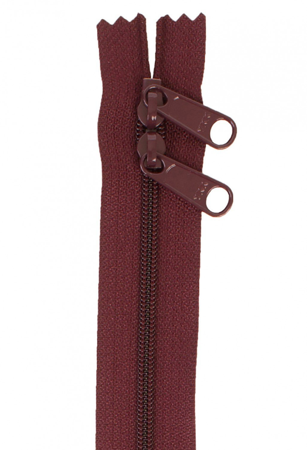 Annie's Handbag Zipper - Cranberry