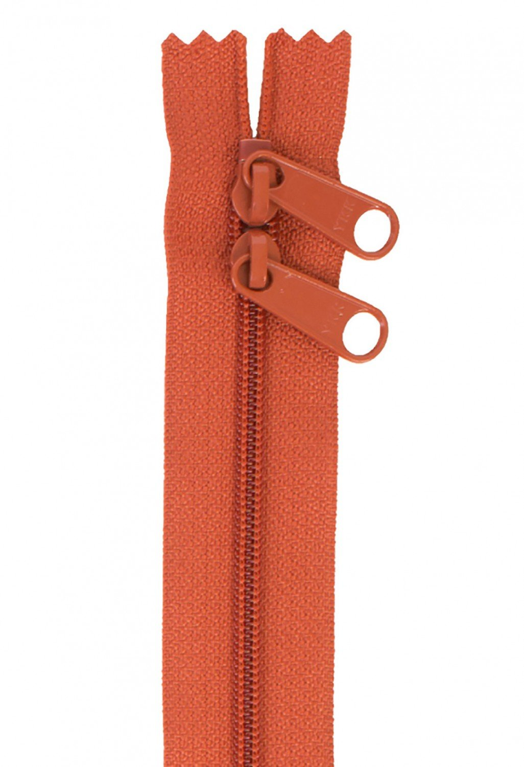 Annie's Handbag Zipper - Redwood