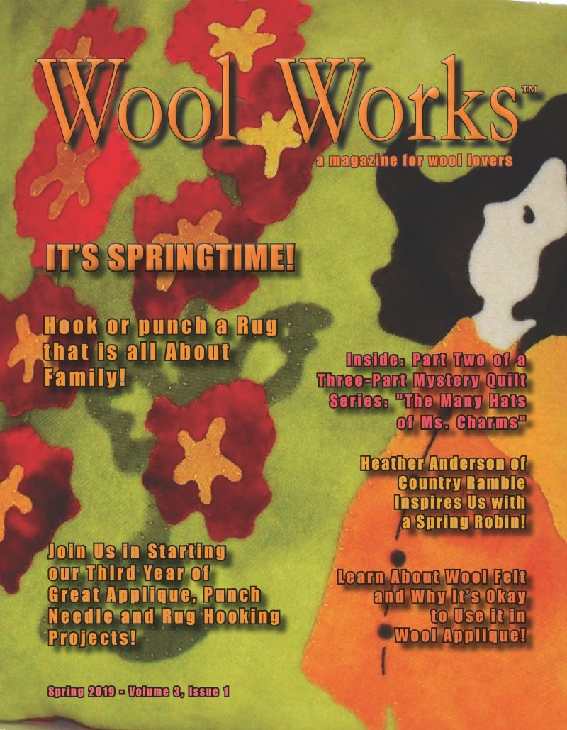 Wool Works Magazine Spring 2019