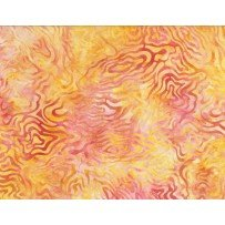 Batavian Rippled Reflections Pink/Orange