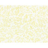 Bamboo Leaves Ivory/ Yellow