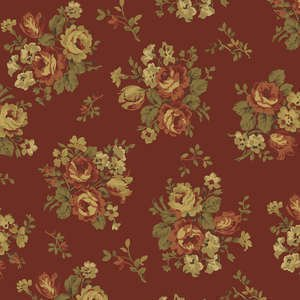 Essex Flannel- Red Floral