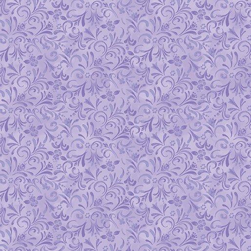 Painterly Swirl Light Purple