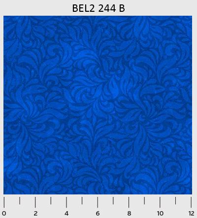 Bella Suede Swirl Blue