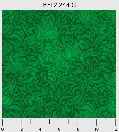 Bella Suede Swirl Green