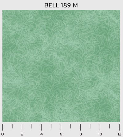 Bella Suede Shadaow Leaf Green