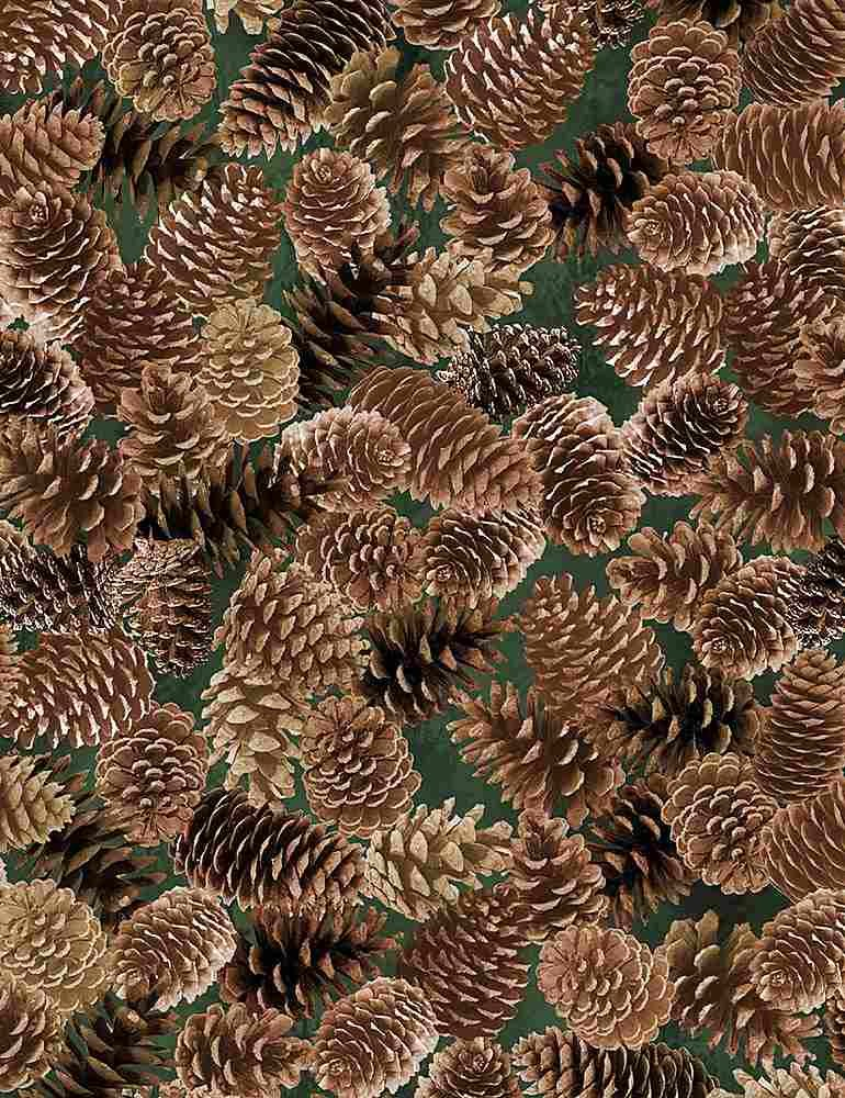 Nature Pinecones Brown