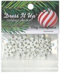 Tiny Snowflakes Button Pack