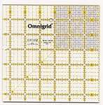 Omnigrid Ruler 6 1/2in Square w/ grid