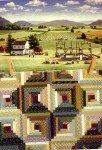 Rebecca Barker's Barn Raising Quiltscape