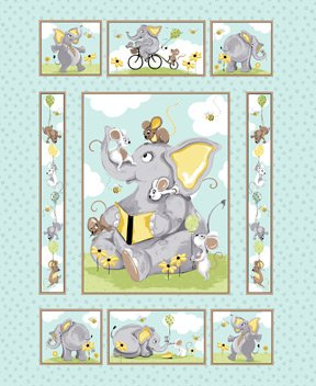 Knightly Quilt Panel