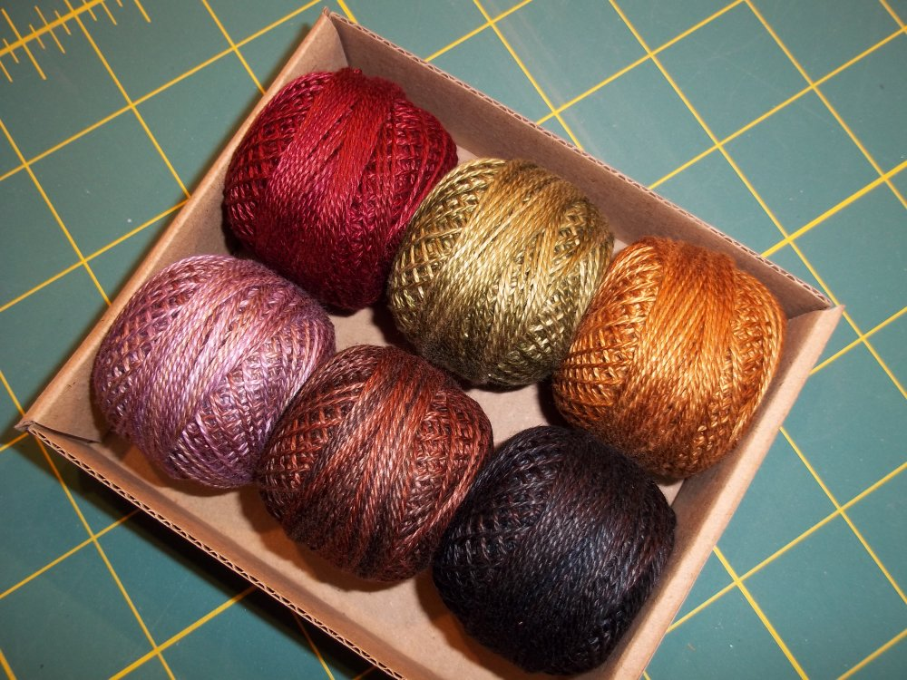 Valdani Thread Collection for Mountain Patchwork