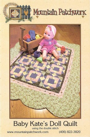 Baby Kate's Doll Quilt Pattern