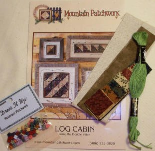 1-Block Log Cabin Kit