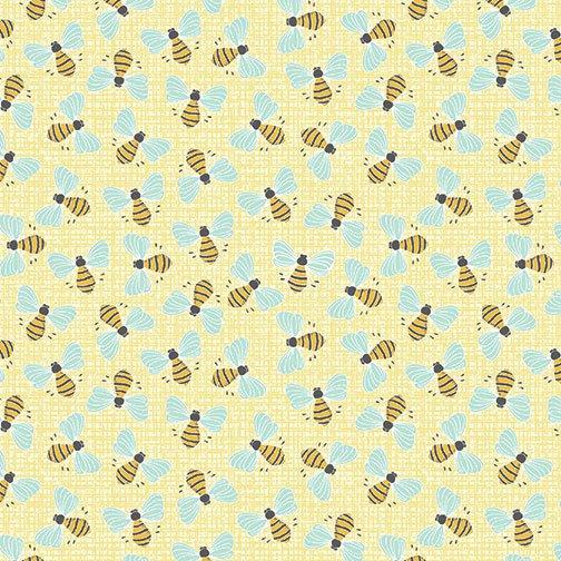 Bees Light Yellow