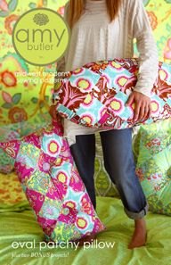 Oval Patchy Pillow