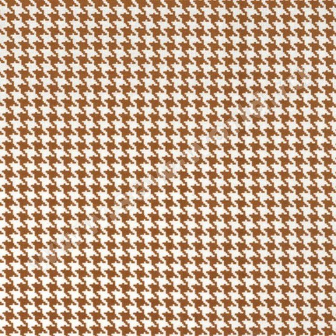Tiny Houndstooth Cinnamon