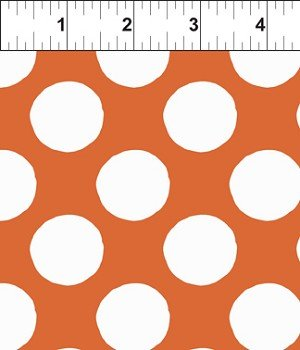 Search and See Large Dots Orange